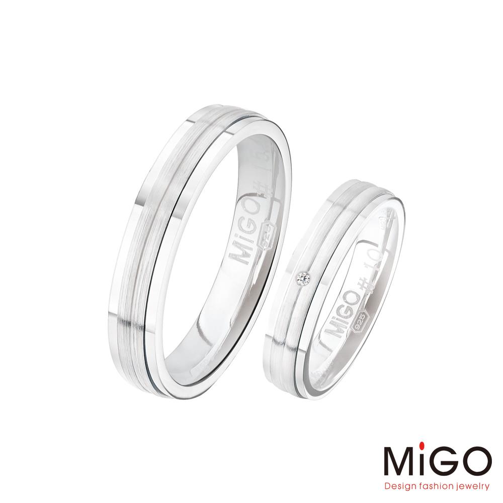 MiGO 約定純銀成對戒指
