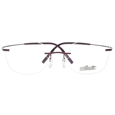 Silhouette詩樂眼鏡 純鈦輕盈無框款/紫 #5541 AW 4041