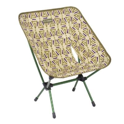 Helinox Chair One 超輕量露營椅 三角圖騰-綠Triangle Green
