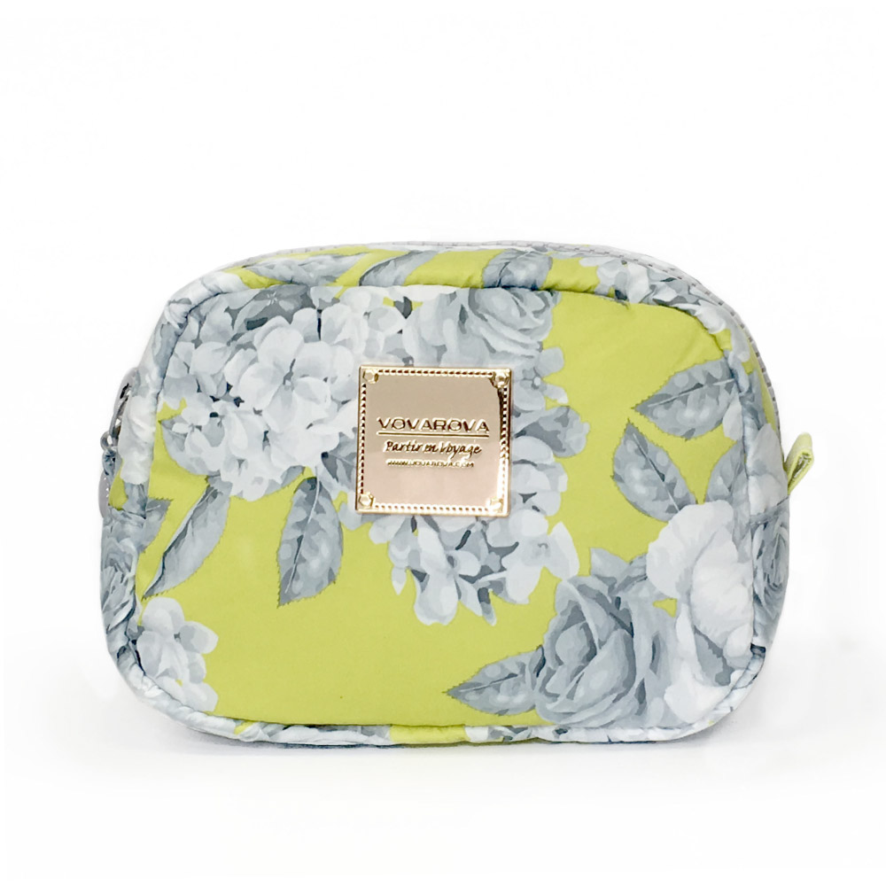 VOVAROVA空氣包-隨身化妝包-花漾 • 黃