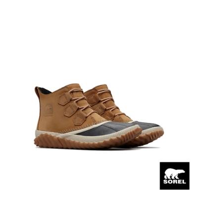 SOREL-女款休閒短靴-駝色