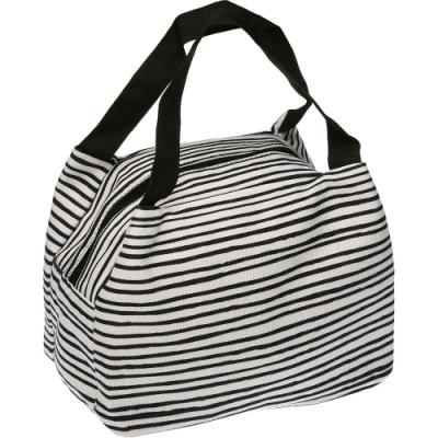 《VERSA》手提保冷袋(黑條紋7L)