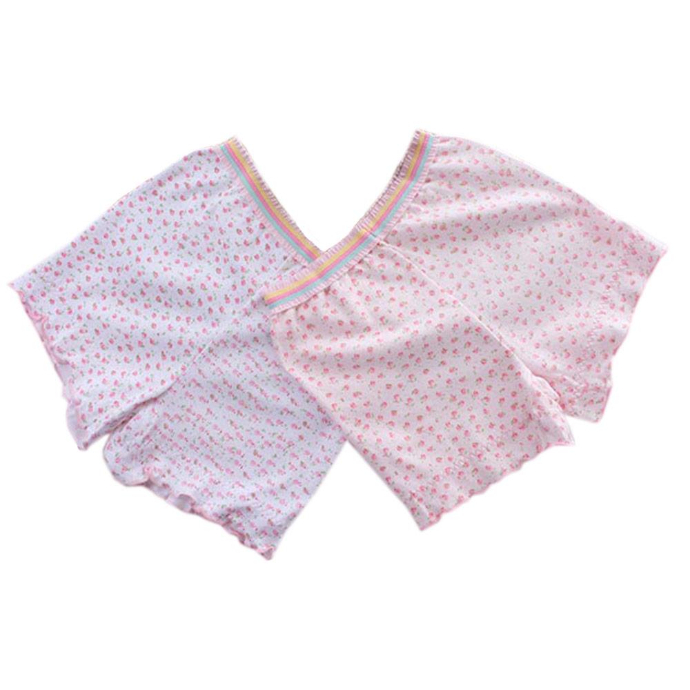女童印花純棉平口內褲(兩件一組) 魔法Baby