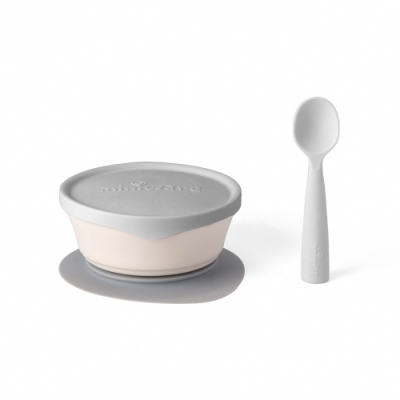 【BONNSU-舊金山Miniware】天然聚乳酸兒童學習餐具- 新生寶寶組
