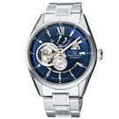 ORIENT STAR 東方之星機械錶手錶 RE-AV0003L-藍X銀/41mm