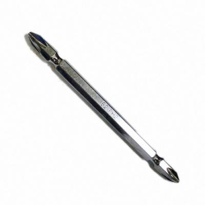 S2-100 2入 日本PH2超硬雙頭十字鑽頭/電鑽螺絲頭 帶磁性100mm