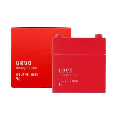 日本 提美DEMI 卵殼膜彩色造型紅積木 髮蠟/髮臘 80g