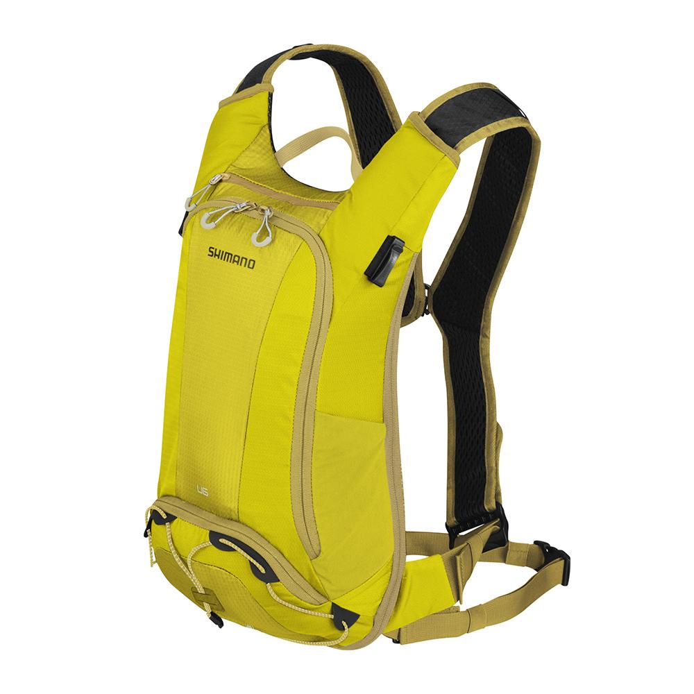 【SHIMANO】UNZEN 6L 自行車背包 橄欖暖黃