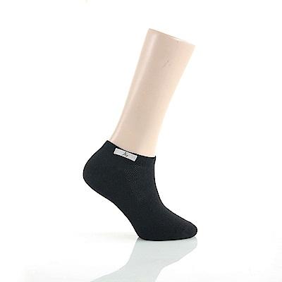 A.S.O 休閒系列-耐磨船型襪 黑