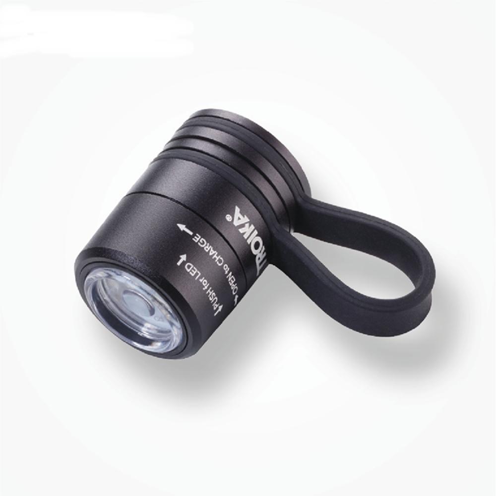 德國TROIKA夾式磁鐵磁吸安全警示燈ECO RUN隨身照明燈超迷你手電筒TOR90適戶外運動LED燈