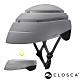 西班牙CLOSCA克羅斯卡 LOOP 單車/滑板/滑板車/電動車用折疊安全帽-灰/黑 product thumbnail 1