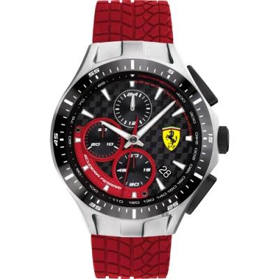 Scuderia Ferrari 法拉利 賽車急速計時手錶(FA0830697)-44mm