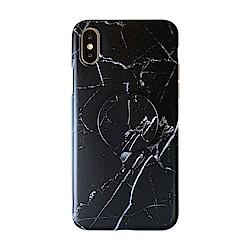 【TOYSELECT】iPhone XR INS大理石氣囊支架手機殼