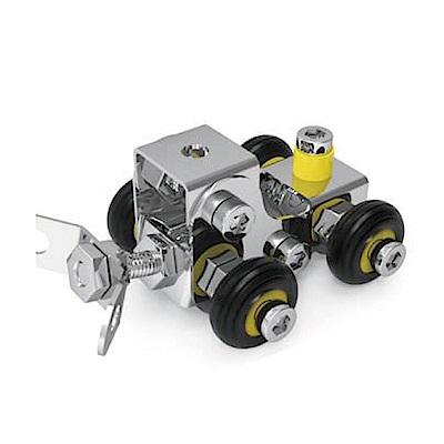 ZEYE-益智金屬積木-推土機(組裝模型)