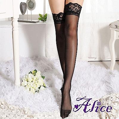 Alice大腿絲襪蕾絲加寬絲襪 AK981