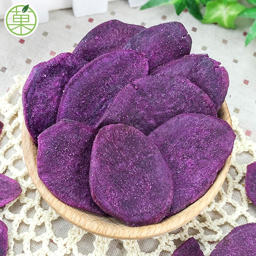 菓青市集 紫地瓜脆片180g