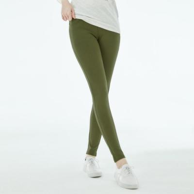101原創 7%新彈力口袋美型褲-軍綠-女