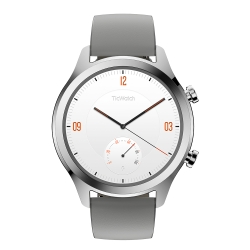 TicWatch C2 都會時尚智慧手錶 - 星光銀