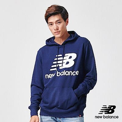 New Balance 連帽長上衣_AMT91547PGM_男性_深藍