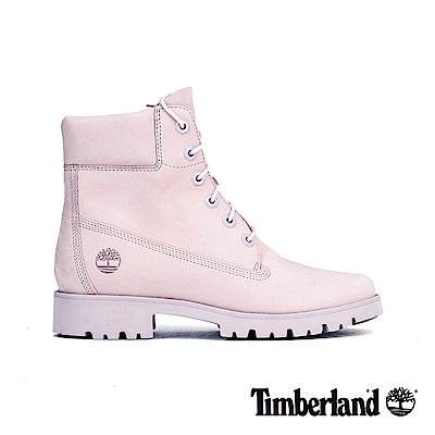 Timberland 女款淺紫色磨砂革經典6吋靴 A1X4T