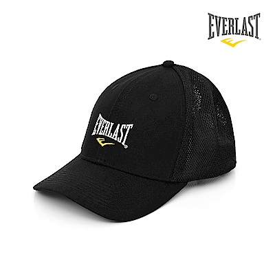 EVERLAST美國運動品牌-透氣網帽-黑