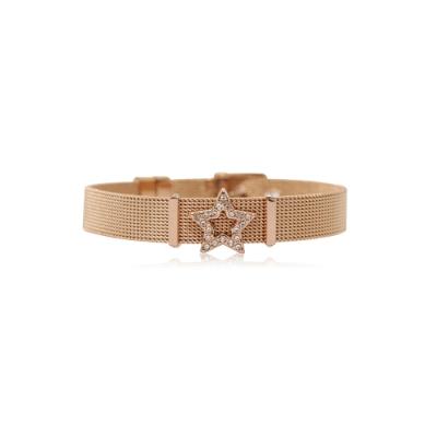 HOURRAE 星星鑽 人氣玫瑰金系列 含一顆小飾品