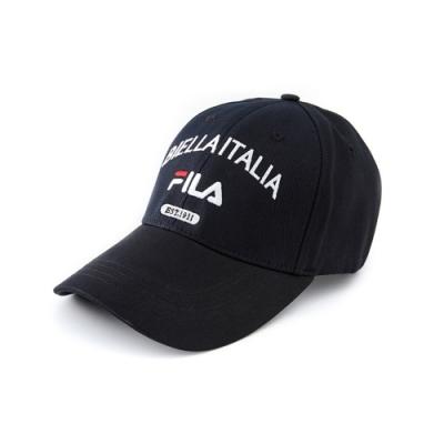 FILA 時尚LOGO帽-黑 HTV-1100-BK