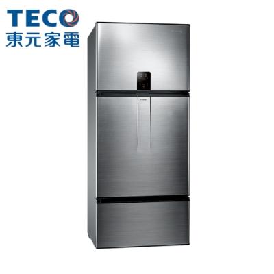 TECO 東元 600公升 一級能效變頻三門冰箱 (R6171VXHK)