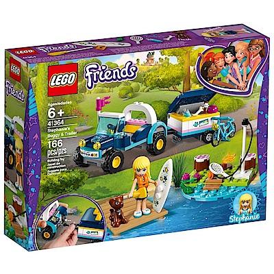 樂高LEGO Friends系列 - LT41364 斯蒂芬妮的越野車和拖車