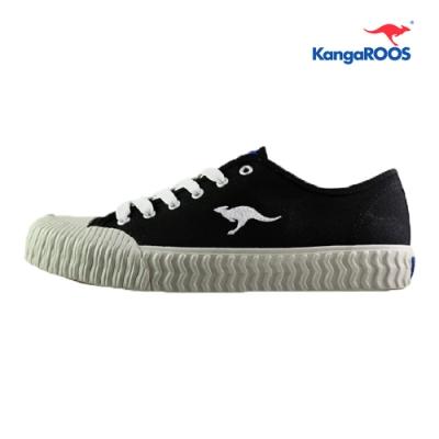 KangaROOS CRUST 男休閒帆布餅乾鞋 黑 KM91260