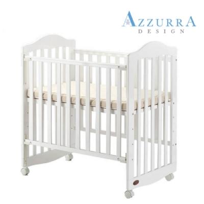 AZZURRA mini嬰兒木頭床(附贈冬夏床墊)