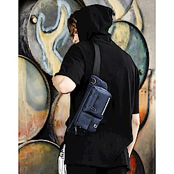 leaper 多功能休閒小款斜跨單肩包腰包 共2色