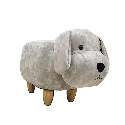 CLORIS 狗狗動物造型椅/沙發矮凳/四腳椅 (白色)