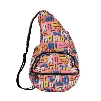 Healthy Back Bag 水滴單肩側背包-Big 字母塗鴉