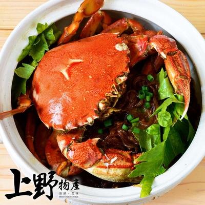 【上野物產】港粵樓菜旭蟹咖哩粉絲煲(850g±10%/固形物650g/份)x1份