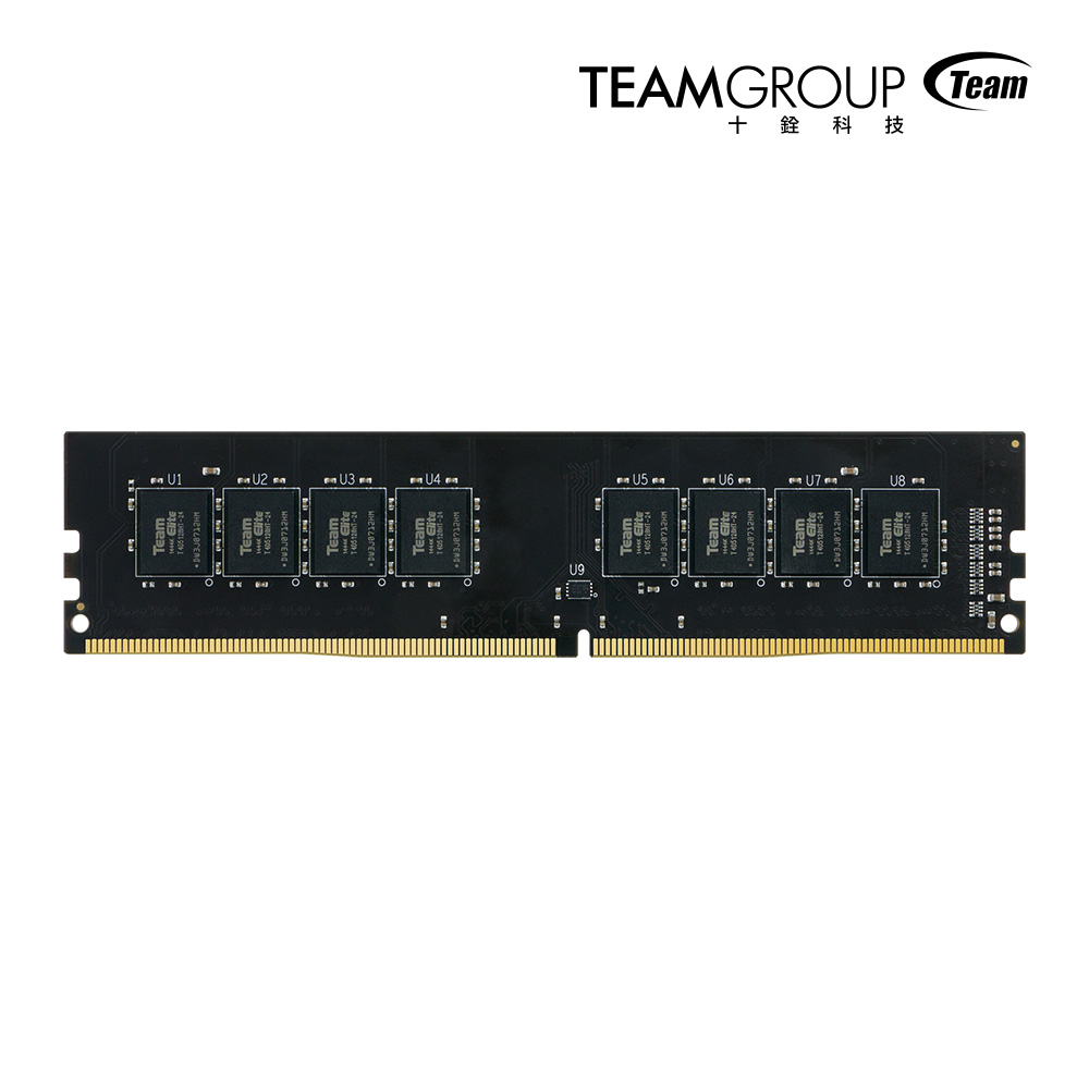 Team十銓 8G DDR4 2666 桌上型記憶體
