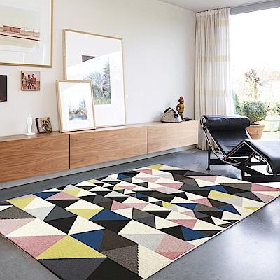 范登伯格 - 薇拉 現代地毯 - 彩三角 (120 x 170cm)