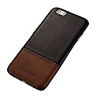 KEZiHOME 復古系列 iPhone 6/6s (4.7吋) 真皮拼接背蓋手機殼