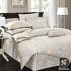 DESMOND岱思夢 加大 100%天絲八件式床罩組 TENCEL 春風又綠