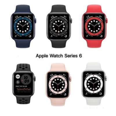 Apple Watch S6 44mm GPS版 鋁金屬錶殼配運動錶帶
