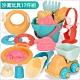 Joy toy 夏日沙灘挖沙玩水玩具17件組(戲水玩沙玩具)3Y+ product thumbnail 1
