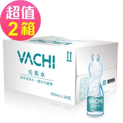 【VACHI元炁水】鎂顏海洋深層水1200ppm x48瓶(500ml/瓶)