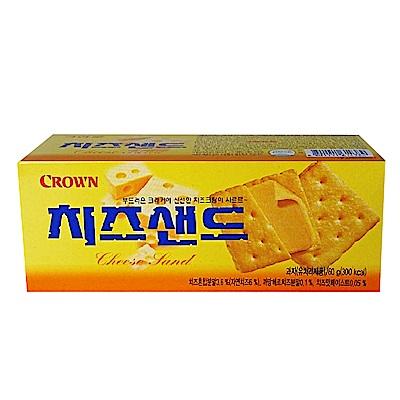 韓國Crown 起司夾心餅(60g)