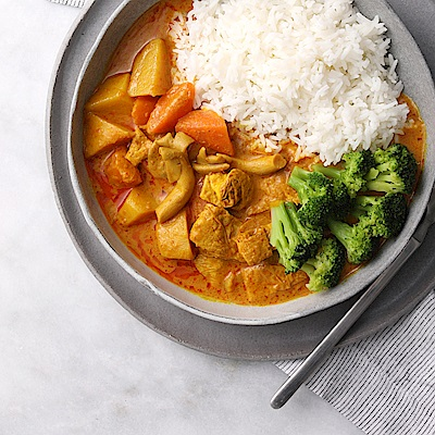 花蓮家咖哩 南洋咖哩料理包-素食養生鮮蔬(260gx4包)