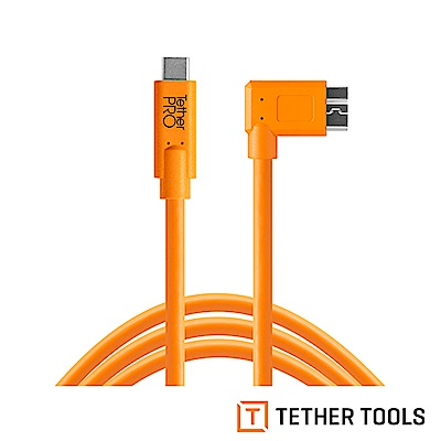 Tether Tools CUC33R15-ORG Pro 傳輸線USB-C to 3.0