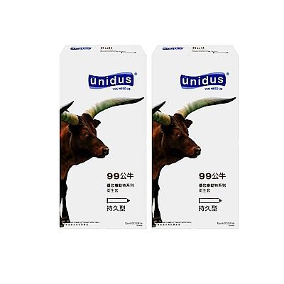 unidus優您事 動物系列保險套-99公牛-持久型 12入x2盒