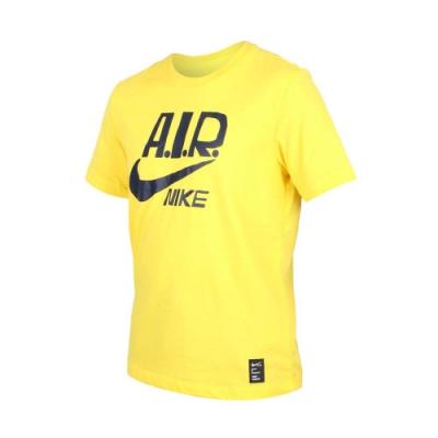 NIKE 男 短袖T恤 黃黑