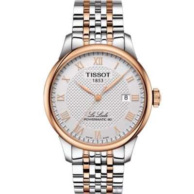 TISSOT Le Locle 力洛克80小時動力機械錶(T0064072203300)