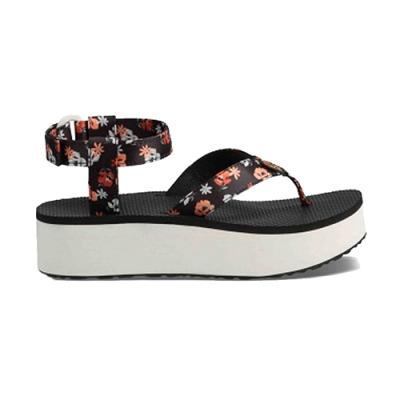 TEVA Flatform Sandal Floral 涼鞋 白色小花 女