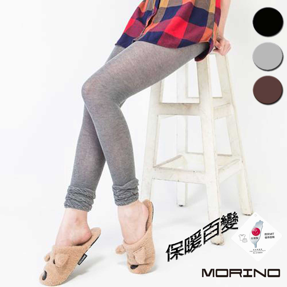 (超值3+1雙組) 女 花邊7分襪 /內搭褲 MORINO